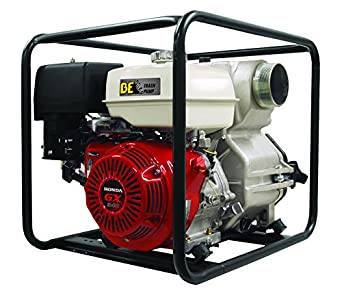 "BE Pressure TP-4013HM 4"" Trash Pump, 580 GPM, 13 hp"