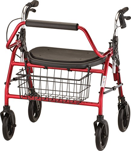 nova-medical-product-mighty-mack-heavy-duty-rolling-walker-red