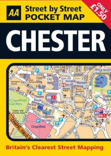 Bild Pocket Map Chester (AA Street by Street)