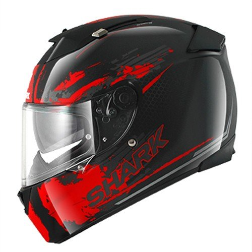 HE4617EKRAXL - Shark Speed-R Duke Motorcycle Helmet XL Red (KRA)