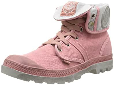 Palladium PALLABROUSE BAGGY 92478-635-M, Baskets mode femme - Rose, 36 EU