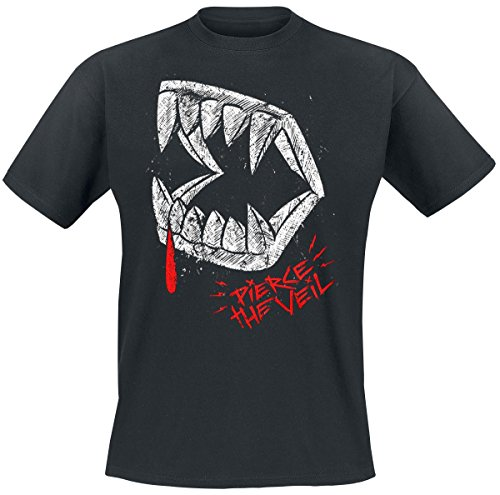 Pierce The Veil Vampire Fang T-Shirt nero XL