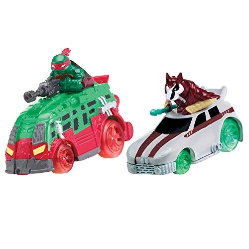 Teenage Mutant Ninja Turtles T-Machines Raphael in Shellraiser and Splinter in Rat Attack Diecast Vehicle (2-Pack) (Turtles Die Cast compare prices)