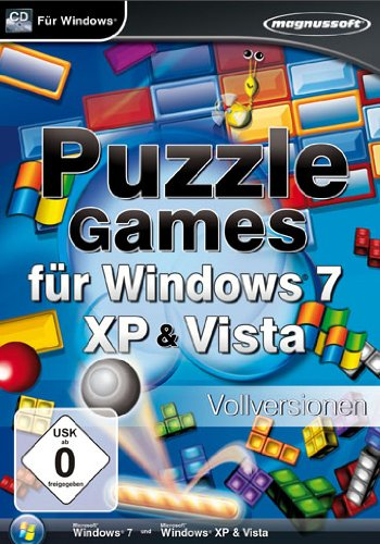 Puzzle Games für Windws 7, XP & Vista - [PC]