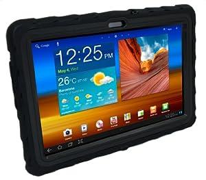 Gumdrop Cases Drop Tech Series Case for Samsung Galaxy Tab 10.1-4G LTE Version Only, Black (DT4G-SAM101-BLK-BLK)