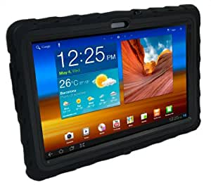 Gumdrop Cases Drop Tech Series Case for Samsung Galaxy Tab 10.1-4G LTE Version Only, Black (DT4G-SAM101-BLK-BLK)