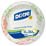 Dixie Paper Bowl, 175 Count (Design and Color will vary)