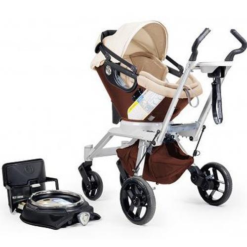 Orbit Baby Stroller Travel System G2, Mocha front-641074