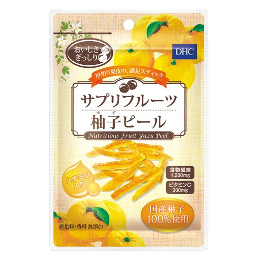 DHC サプリフルーツ 柚子ピール 30g