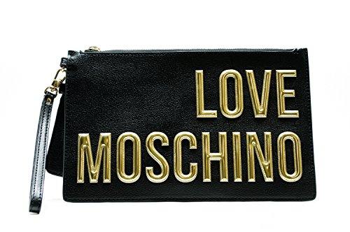 love-moschino-damen-jc4082-clutch-schwarz-black