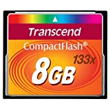 "Transcend Ultra-Speed 133x 8GB Compact Flash Speicherkartevon ""Transcend"""