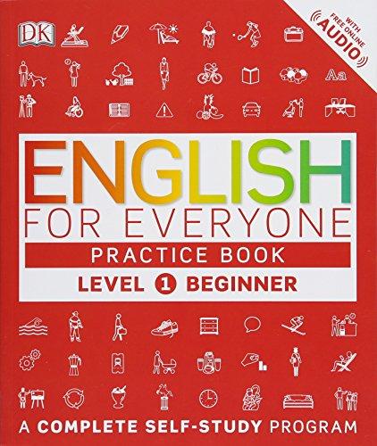 English for Everyone: Level 1: Beginner, Practice Book [DK] (Tapa Blanda)