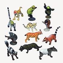 Assorted Rain Forest Animal Figures