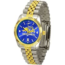 "South Dakota State Jackrabbits NCAA AnoChrome ""Executive"" Mens Watch"