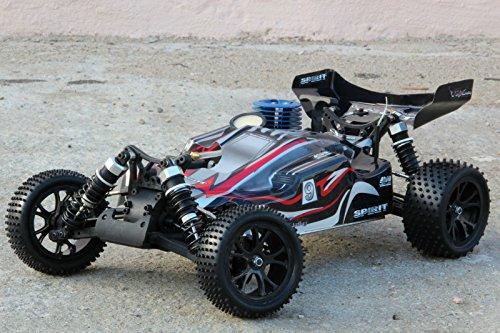 RC RACING BUGGY SPIRIT NITRO RTR 4WD 1:10 AUTO VERBRENNER 2,4GHZ NEU RH1007