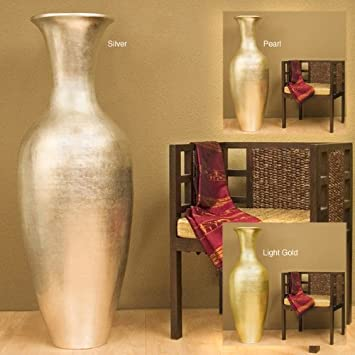47 inch classic large floor vase - Decorative Floor Vases