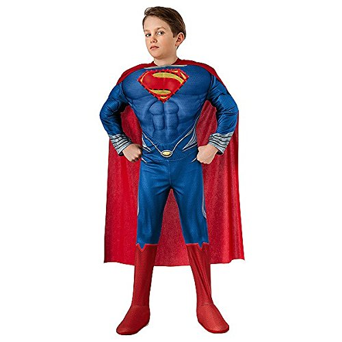 Superman Man of Steel Light-Up Deluxe Boys Costume