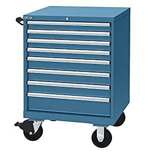 Amazon.com - Lista Mobile Drawer Cabinet With Rubber Surface Mat - 6 Drawers - 70 Compartments