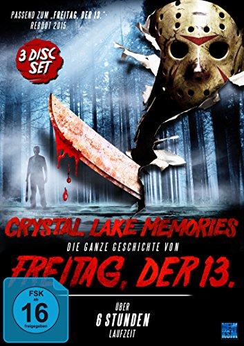 Crystal Lake Memories - Die ganze Geschichte von Freitag der 13. (3 Disc-Set) (Limitierter & nummerierter Silberglanzfolienschuber mit Hochprägung)