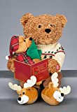 Teddy Bear Christmas Story Telling Movement and Sound Batteries Included Xmas
