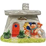 Westland Giftware Ceramic The Flintstones Family House Cookie Jar, 8.5-Inch