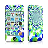 Apple iPhone4/iPhone4S用 スキンシール【Spiral Dots】