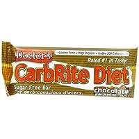 UNIVERSAL NUTRITION社 ドクターズ ダイエット カーボライト バー チョコレートキャラメルナッツ 12本