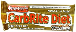 Universal Nutrition Carbrite Diet Bar, Chocolate Caramel Nut, 12 Count