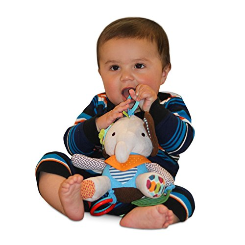 Adorable-Ellie-the-Elephant-Teether-Plush-Toy-Relief-from-Teething-Pain-Perfect-for-Stroller-Crib-Car-Seat