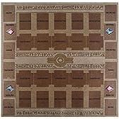 おもちゃの神様 カード ラバープレイマット エジプト壁画風(対戦用) ペンデュラムゾーンあり! 60×60cmサイズ 厚さ 2mm の特大サイズ! これ1枚で二つのデュエルフィールドを用意! プレイマットについにペンデュラムゾーンを追加! アニメを再現し、決めろペンデュラム召喚! 遊戯王 ARC-V