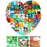 Geschenke24.de Holz Puzzle Herz Hochzeitsspiel - beliebte lustige Hochzeitsgeschenke zum Bemalen