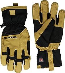 Dakine Men\'s Durango Glove Black/Tan Skiing Gloves SM