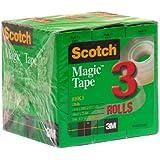 Scotch Magic Tape, 3/4 x 1000 Inches, 12-Pack