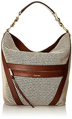 Calvin Klein Mesh Hobo Shoulder Bag