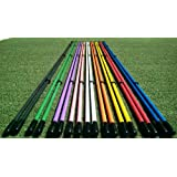 "Golfnsticks ""The Top Rated"" Golf Alignment Sticks / Amazing Team Color Options / Made in the USA! / Fast Free Shipping! SUMMER BLOWOUT!"