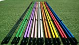 "Golfnsticks ""The Top Rated"" Golf Alignment Sticks / Amazing Team Color Options / Made in the USA! / Fast! SUMMER BLOWOUT! (Yellow)"