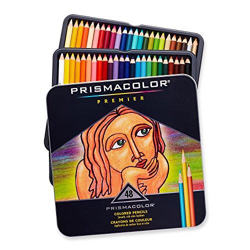 Prismacolor Premier Colored Pencils, Soft Core, 48-Count