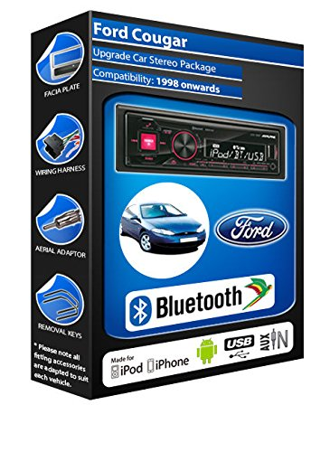 Ford Cougar autoradio Alpine UTE 72BT-kit mains libres Bluetooth pour autoradio stéréo