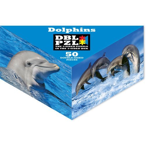 Dolphins DBL PZL 50 Pc Double Sided Jigsaw Puzzle - 1