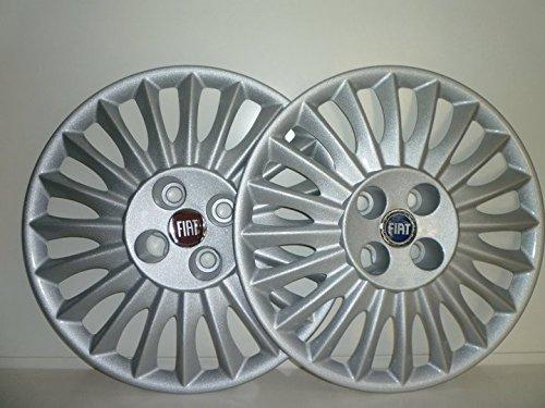 Set-4-Coppe-Ruota-Copricerchio-Borchie-Fiat-Grande-Punto-dal-2005-r-15