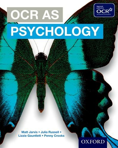OCR AS Psychology Student Book