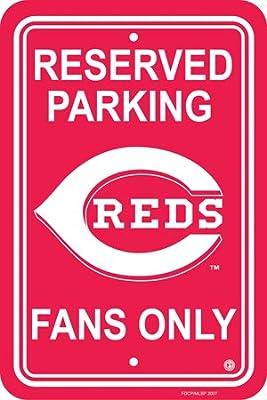 Bsi Products MLB Cincinnati Reds Plastic Parking Sign