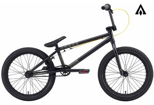 Amber Strut Matte Black BMX Bike