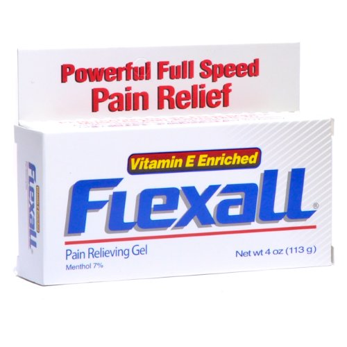 Analgesic Gel Flexall 454 Pain Relieving Gel 4 OzB0006GBEHQ : image