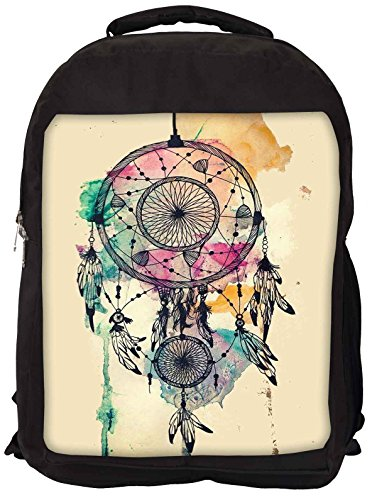 Snoogg Dream Catcher Colorato Laptop Backpack Casual Zaino Della Scuola