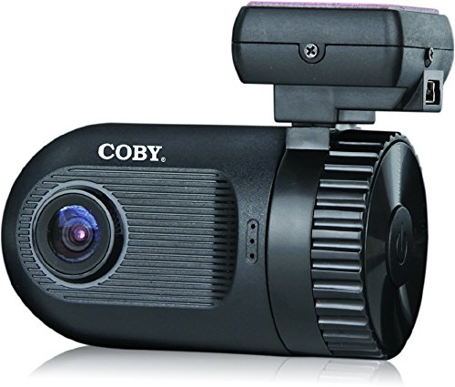 Coby DCHDG-201 4x Zoom 1080p Car Dash Cam and DVR Box (Black)