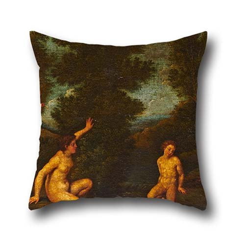 18 X 18 Inch / 45 By 45 Cm Oil Painting Albani, Francesco - Salmacis And Hermaphrodite Pillow Shams,twice Sides Is Fit For Teens Girls,relatives,lounge,car,husband,club (Hermaphrodite Picture compare prices)