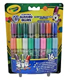 Crayola 16 Pipsqueak Glitter Glues