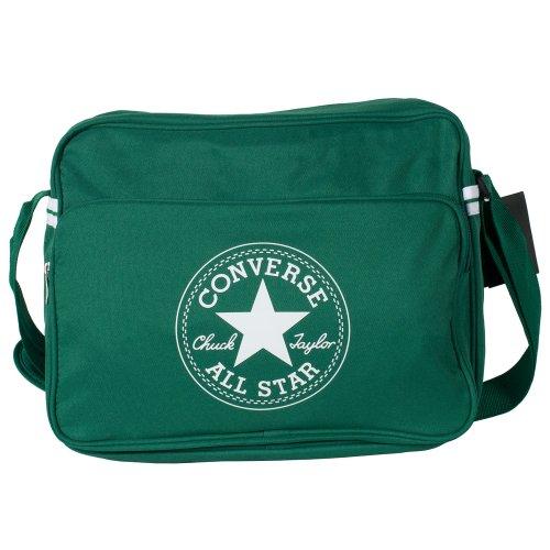 Converse Borsa a tracolla Reporter, Verde (dark green), 39x31x16