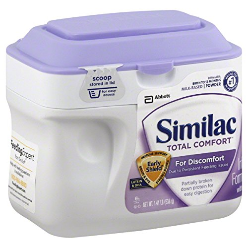 Similac Total Comfort Baby Formula - Powder - 1.41 lb/22.5 oz - 1